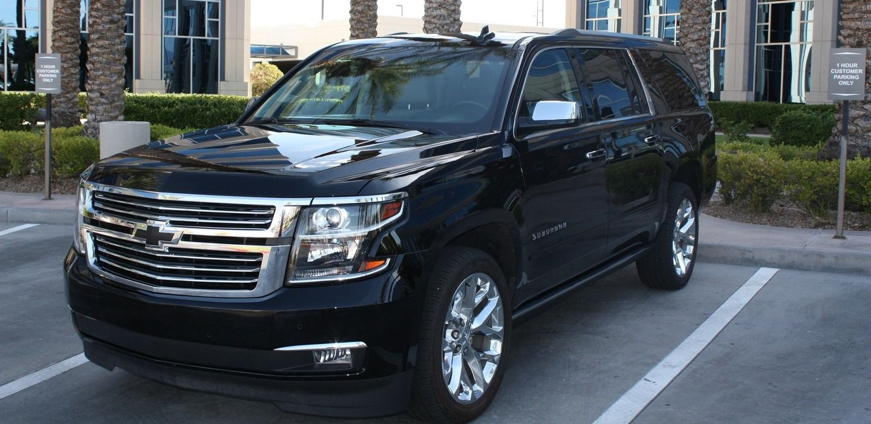 Chevrolet Suburban 2018 rental alternative in Las Vegas