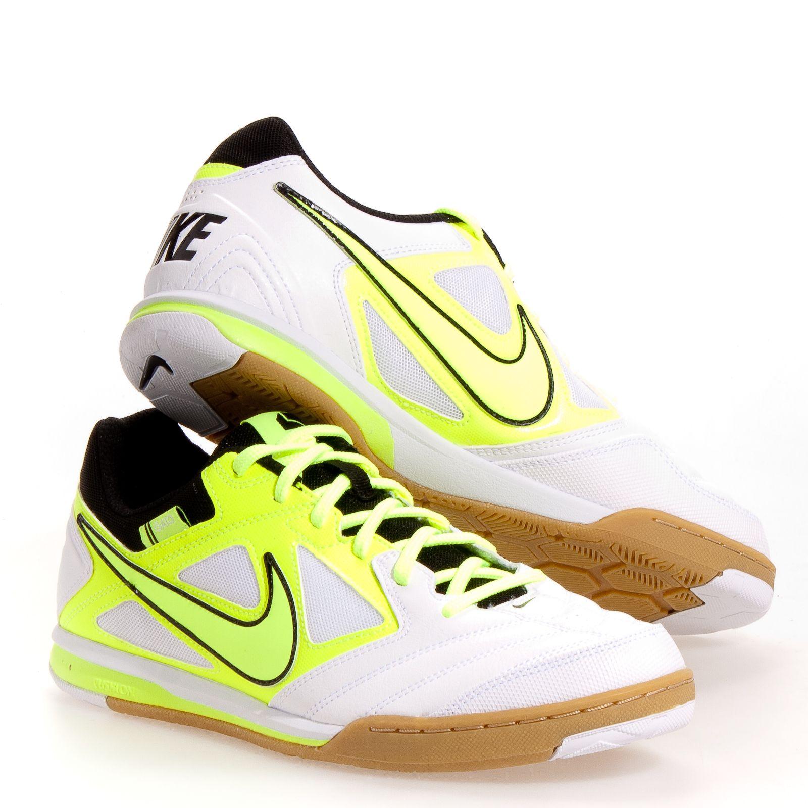Nike 5 Gato Ltr Men's Soccer Shoes: White 6.5
