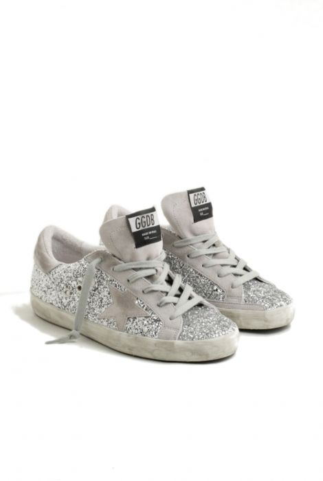 Golden Goose sneakers superstar glitter