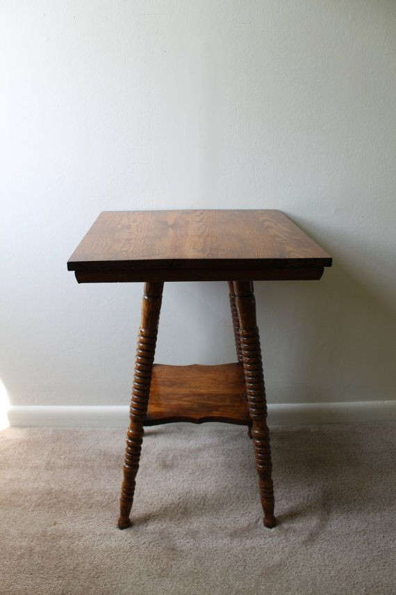 Vintage farm table w spindle legs