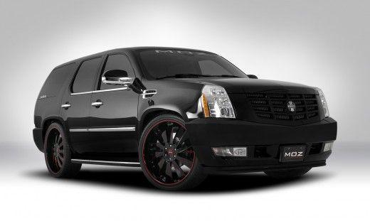 Pin On 2009 Custom Black Cadillac Escalade Suv