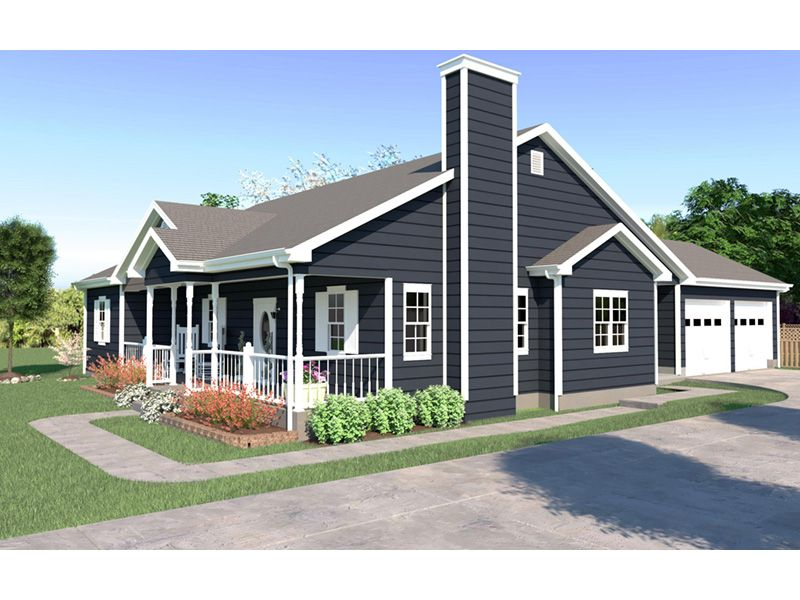 Country House Plan Front Photo 01 - Mayland Country Style Home 001D-0031 | House Plans and More