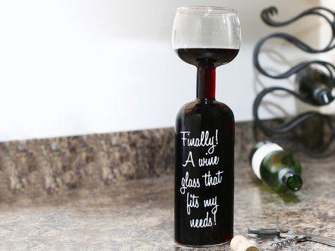 Festival - Vinglas-flaske, Til den tørstige connaisseur!