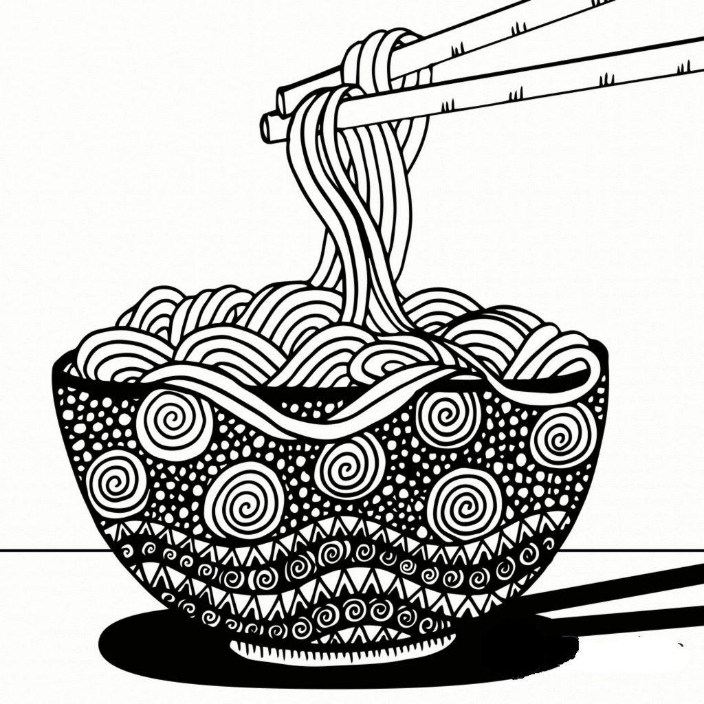 Mandala Spaghetti Coloring Page Doodle Art Designs Easy Mandala Drawing Boho Art Drawings
