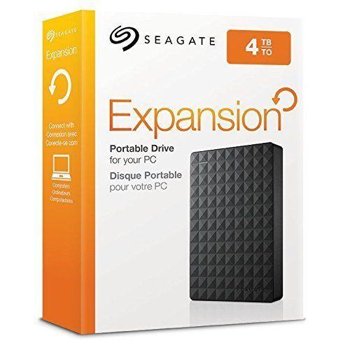 Seagate 4tb Expansion Portable External Hard Drive Usb 3 0 Model Ebay Portable Hard Drives Seagate Portable External Hard Drive