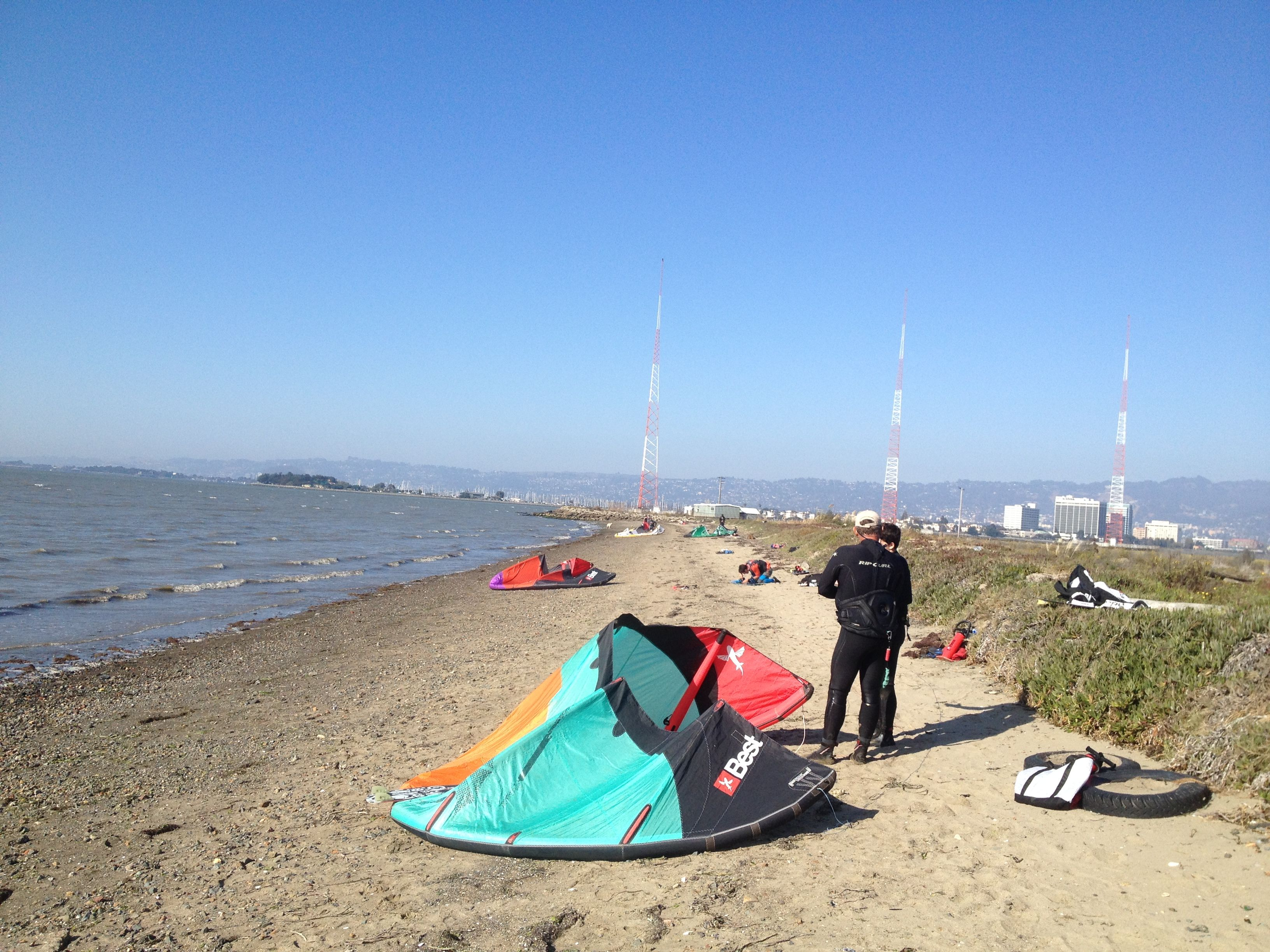 Toll Plaza Beach In Oakland Ca