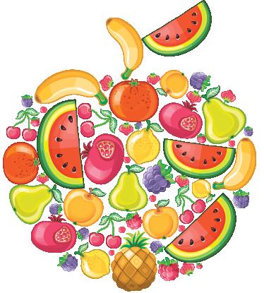 Dia De La Fruta Guarderia El Principe E Alimentos Saludables Dibujos Alimentacion Saludable Para Ninos Fruta Para Ninos