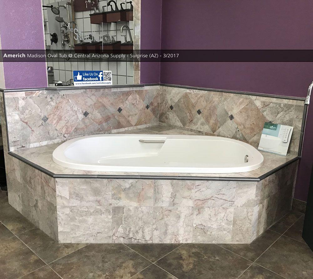 Americh Madison Oval Tub @ Central Arizona Supply - Surprise (AZ ...