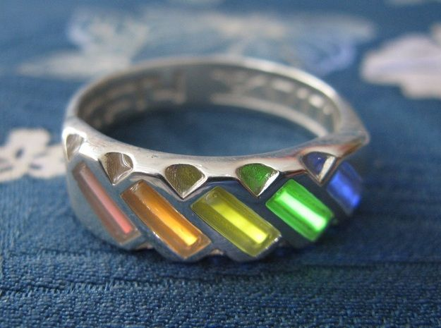 Us12 Ring Xvii Tritium By Tofty On Shapeways Rings Tritium Dark Rings