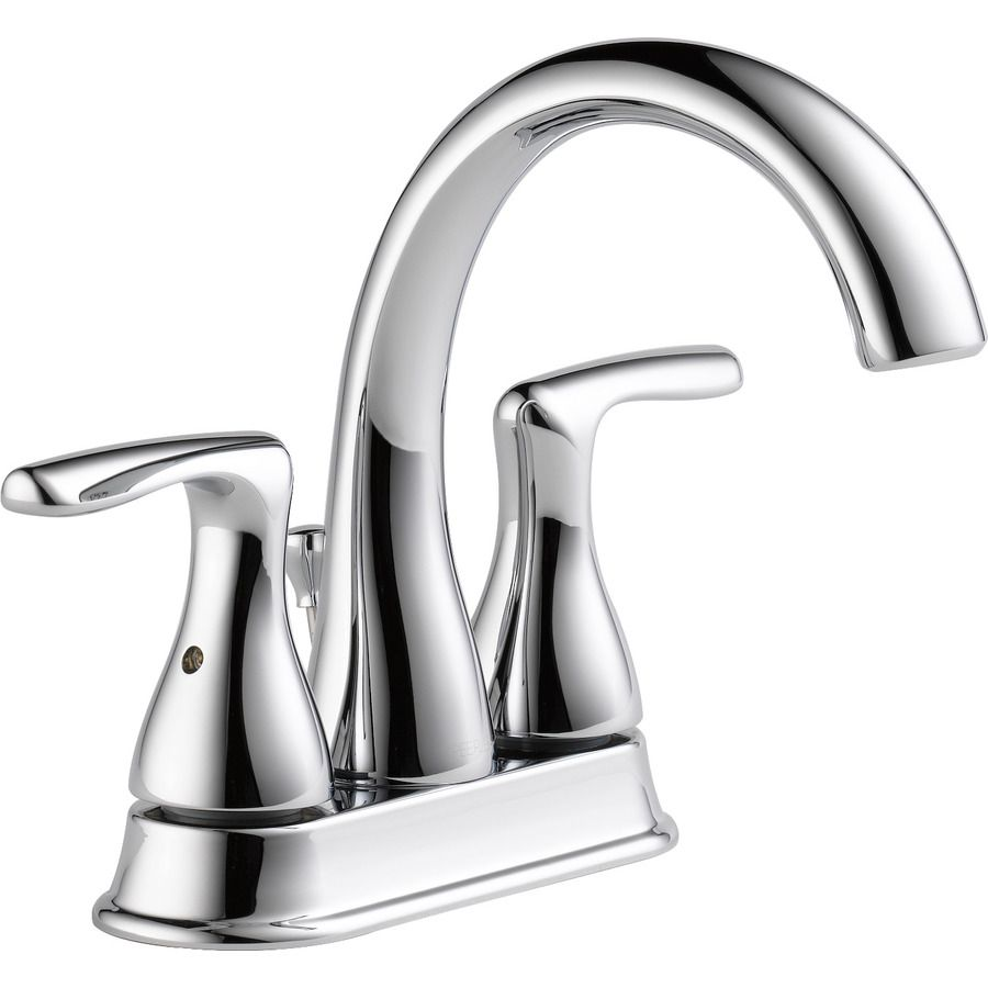 Peerless Dulcet Chrome 2-handle 4-in Centerset Bathroom Faucet ...