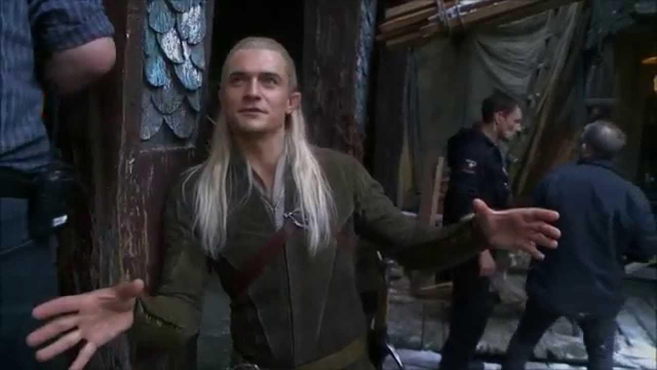 Legolas Behind The Scenes - Legolas Stunts (Legolas In ...