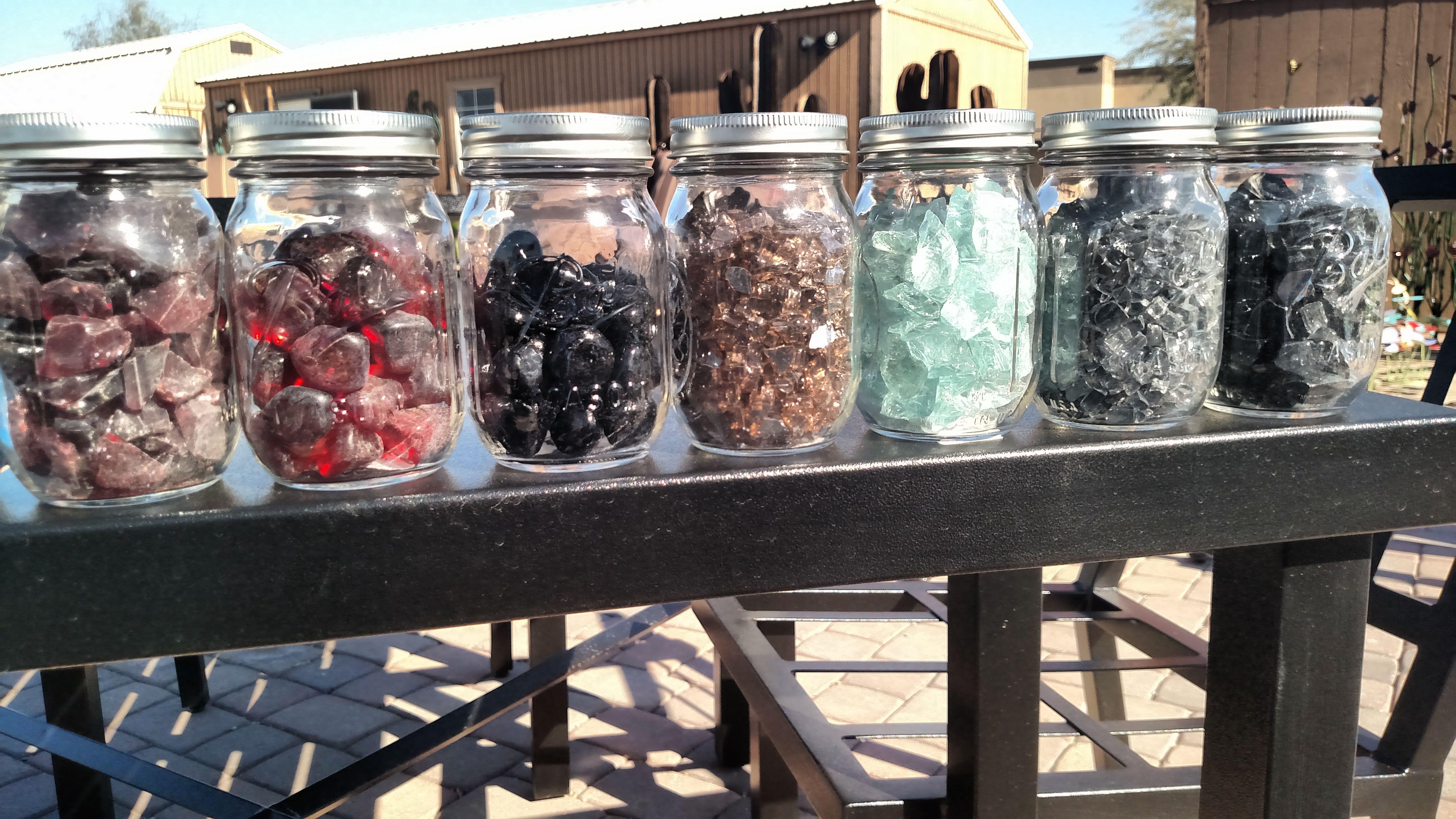fireglass colors and shapes fireglass and firepits pinterest