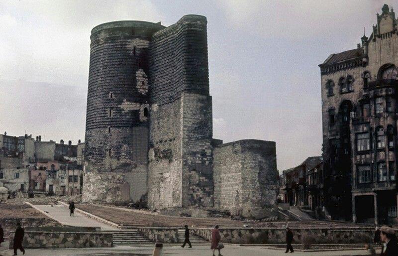 Old Baku Baku City Willis Tower Tower