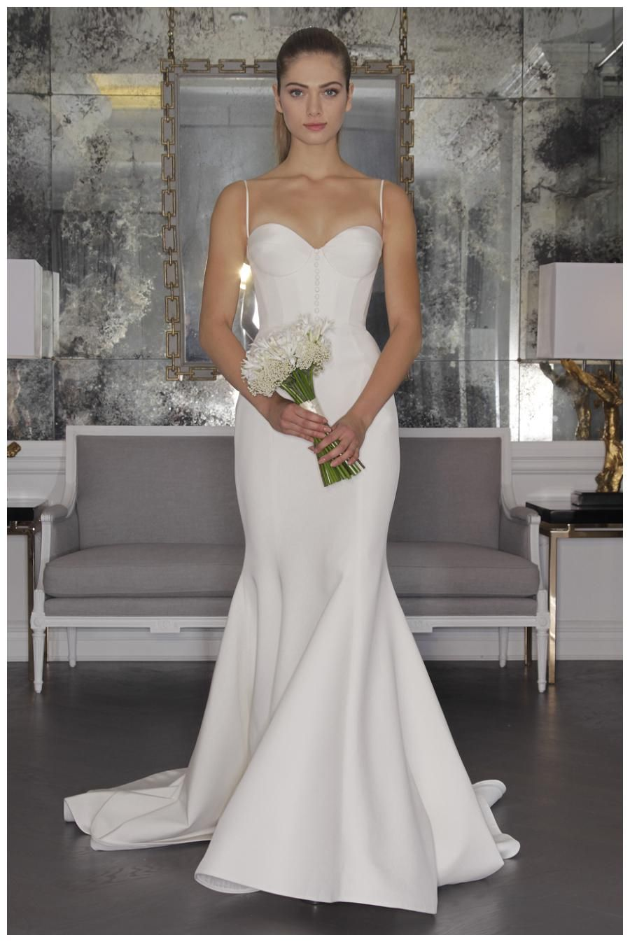 Southern style wedding dresses  Romona Keveza Luxe Bridal Collection Fall   Weddings Unveiled
