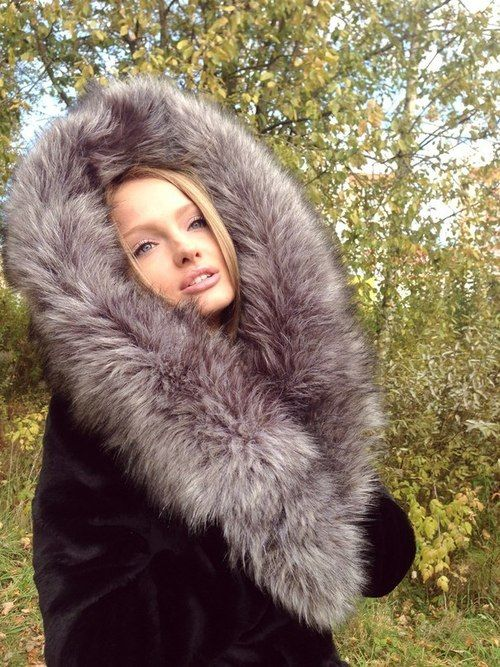 Coats Mink and Fox fur on Pinterest