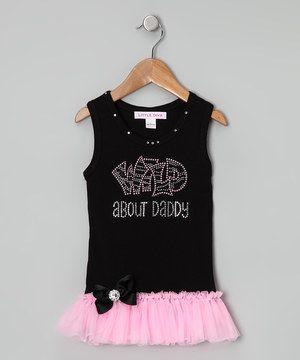 Love this Little Diva Black & Pink 'Wild About' Tutu Tank - Infant, Toddler & Girls by Little Diva on #zulily! #zulilyfinds