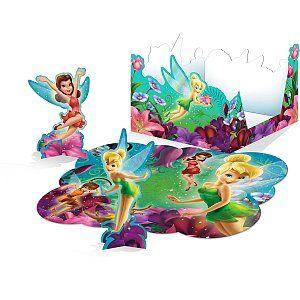 Tinkerbell Punch Out Table Decorations Tinkerbell