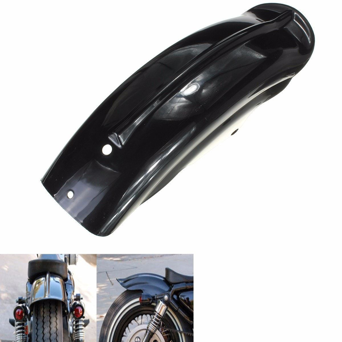 Motorcycle Black Rear Fender For Harley Sportster 1994-2003. Motorcycle Black Rear Fender For Harley Sportster 1994-2003     description:  as You Know, When You Are Driving In The Wet Road, It Is Easy To Make Your Motorcycle Dirty.  but Now The Item Can Keep Your Motorcycle Clean, What's More, It Can Add Beauty For Your Motorcycle.  it Is Time To Upgrade The Rear Fender For Your Motorcycle Now!    specification :  color : Black  material : Plastic  size : As The Picture Show  (please Check…