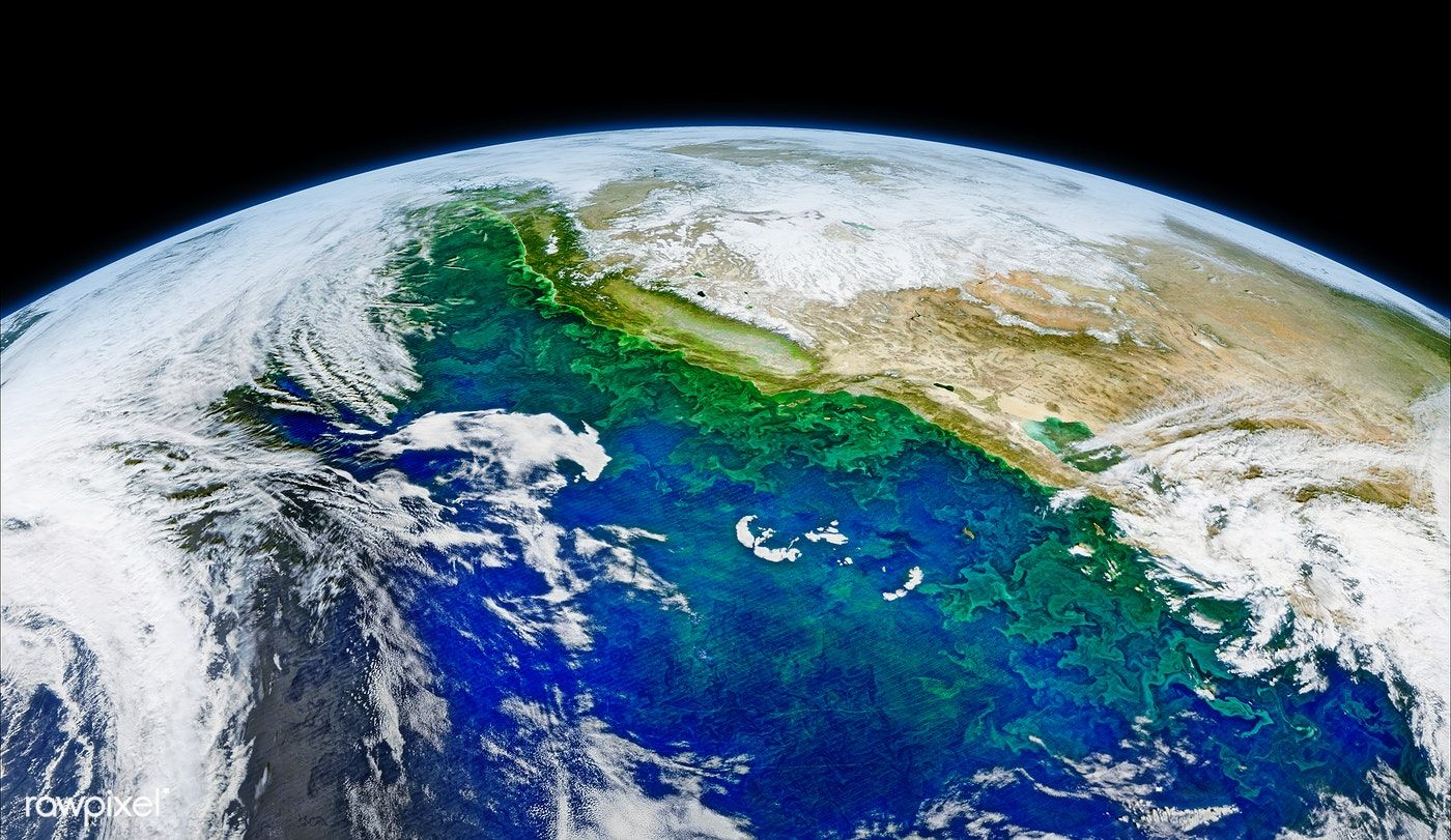 Satellite Image Of Earth Original From Nasa Digitally Enhanced By Rawpixel Free Image By Rawpixel Com Free Image Satellite Image Nasa Earth Nasa Images