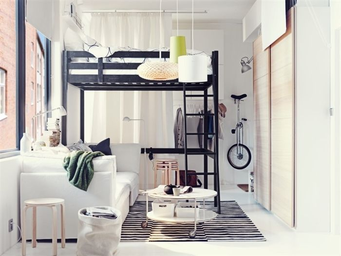 10 Small Beds Perfect for Micro Apartments. Take a look at these layouts  for small bedrooms.