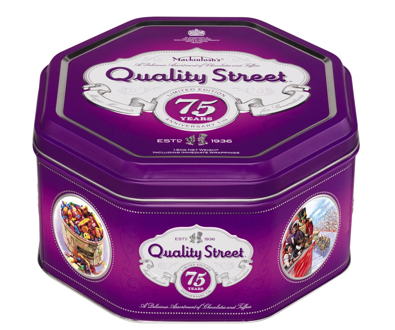 one of my favourite design jobs in recent years the quality street