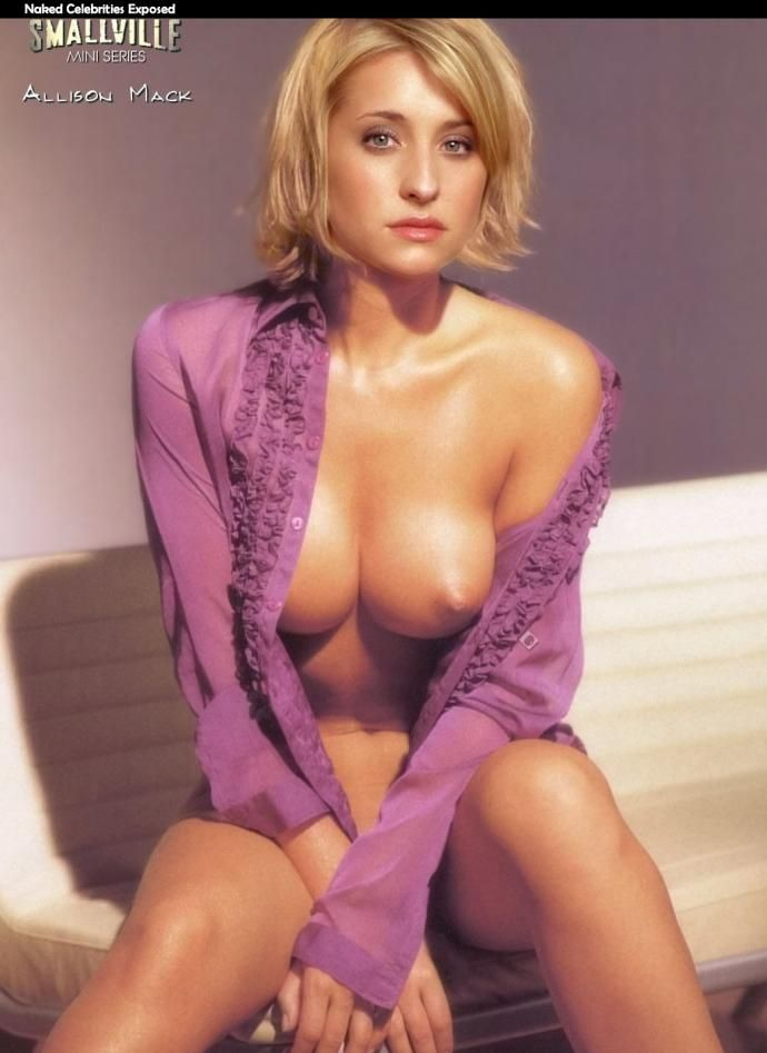 only nude pics Allison mack