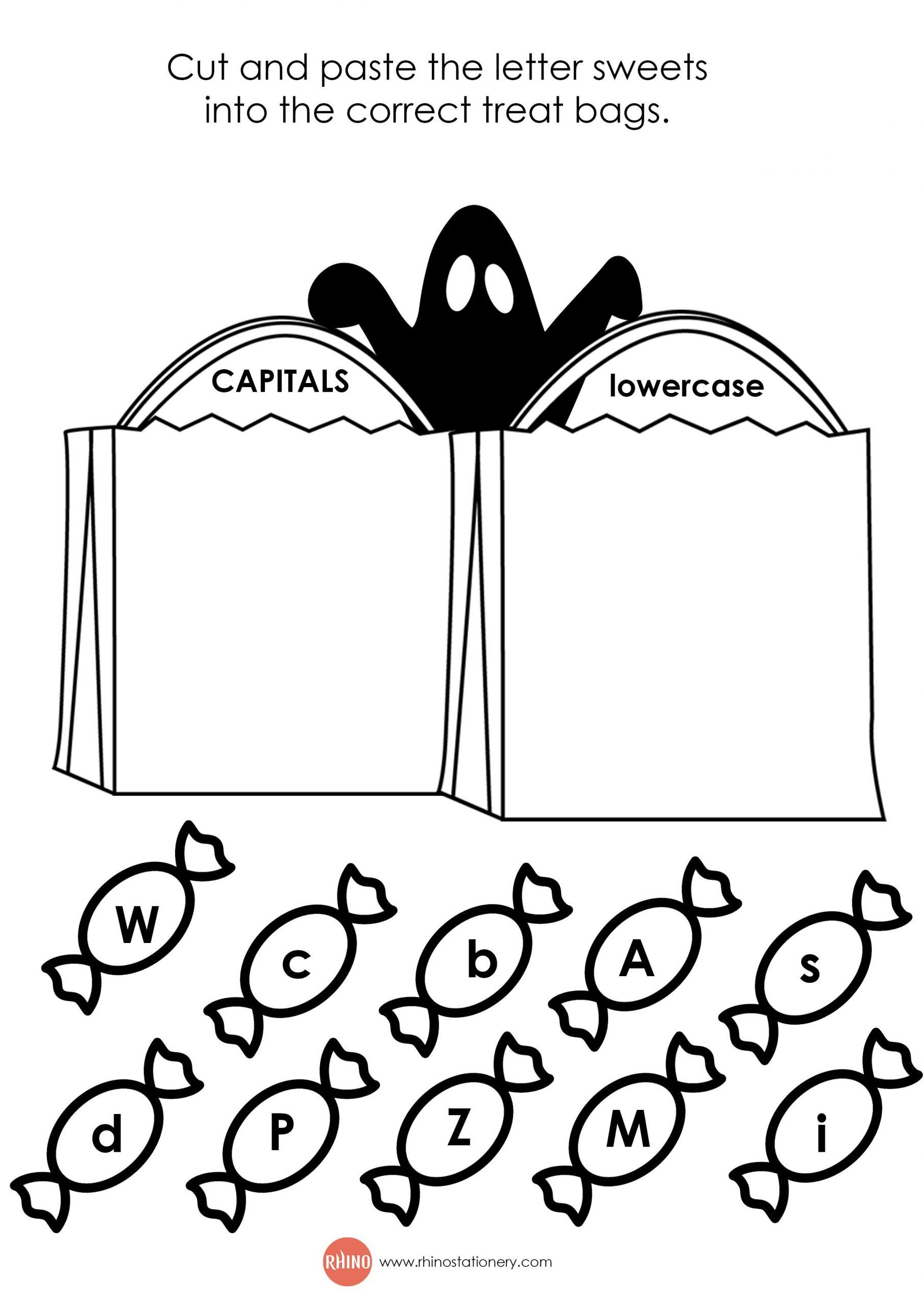 Halloween Worksheets For 2nd Grade In