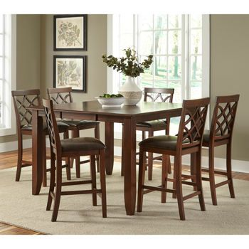 Costco Wholesale Counter Height Dining Sets Side Chairs Living Room Dining Set