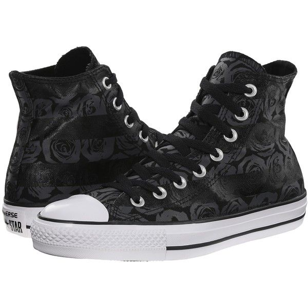 4b430bc4010b7a Converse Chuck Taylor All Star Rose Print Hi Women s Lace up casual...  ( 43) ❤ liked on Polyvore featuring shoes
