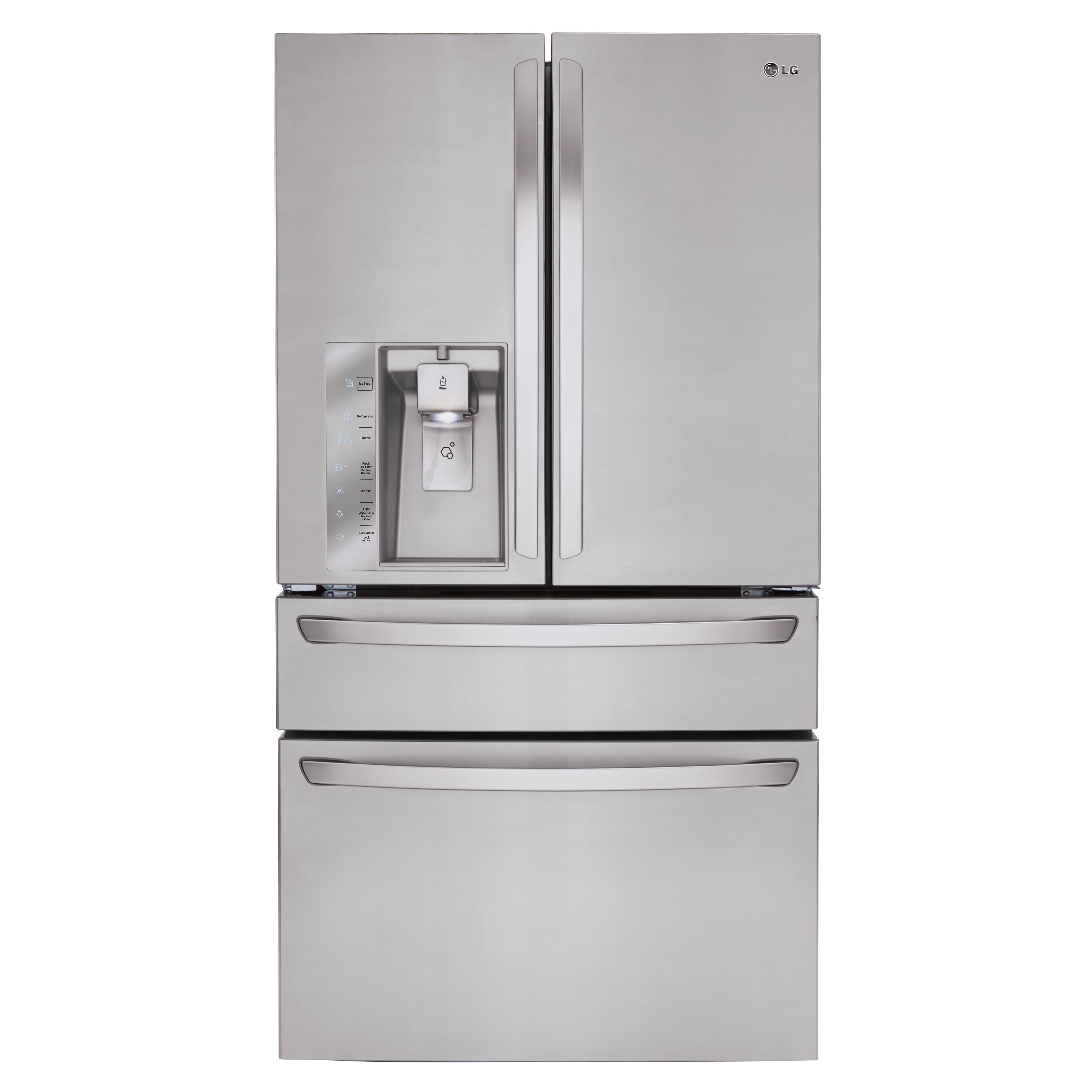 Shop LG Appliances LG Ft French Door Refrigerator With Single Ice Maker Door  Within Door ENERGY STAR At Loweu0027s Canada. Find Our Selection Of  Refrigerators ...