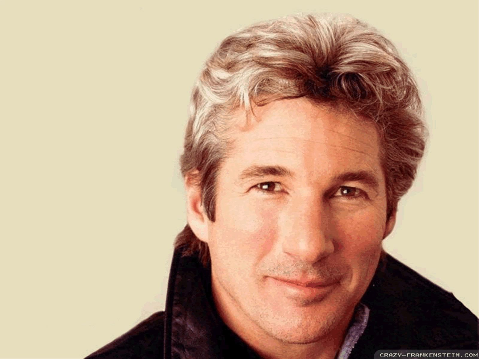 Richard Gere- he is known as a very handsome silver fox. In this picture he…