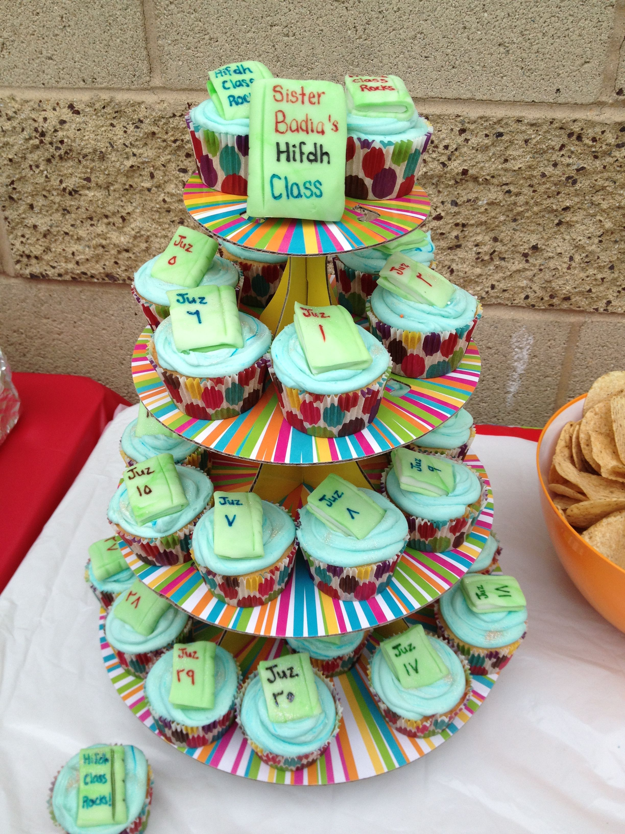 Quran Hifz Cupcakes Made For My Sons Class Hifdhjourney Hifdh