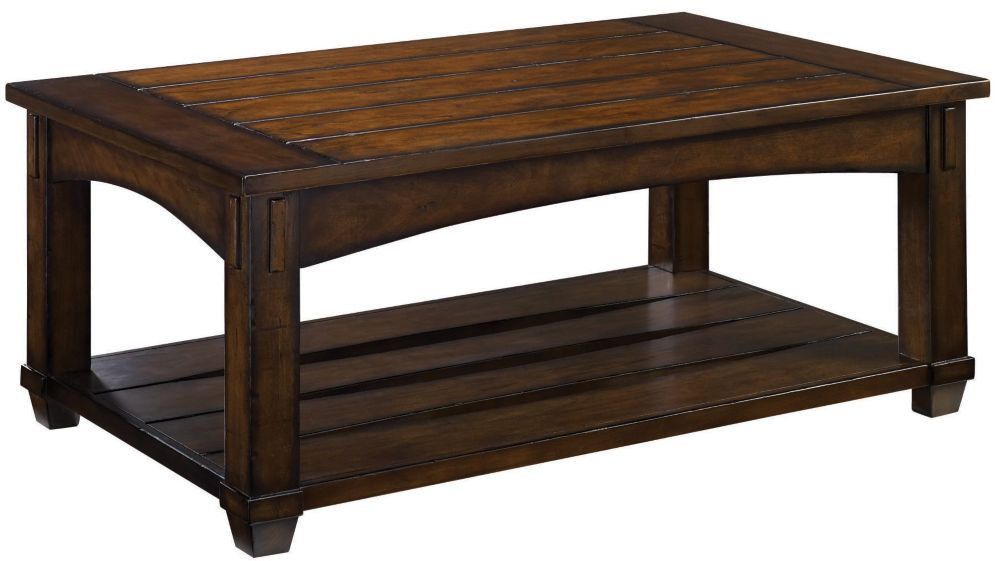 Rectangular Lift Top Cocktail Table Chair side