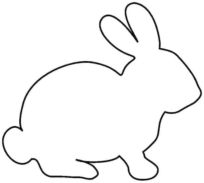 Rabbit Coloring Pages For Kids In 2020 Bunny Coloring Pages Easter Bunny Template Easter Printables Free
