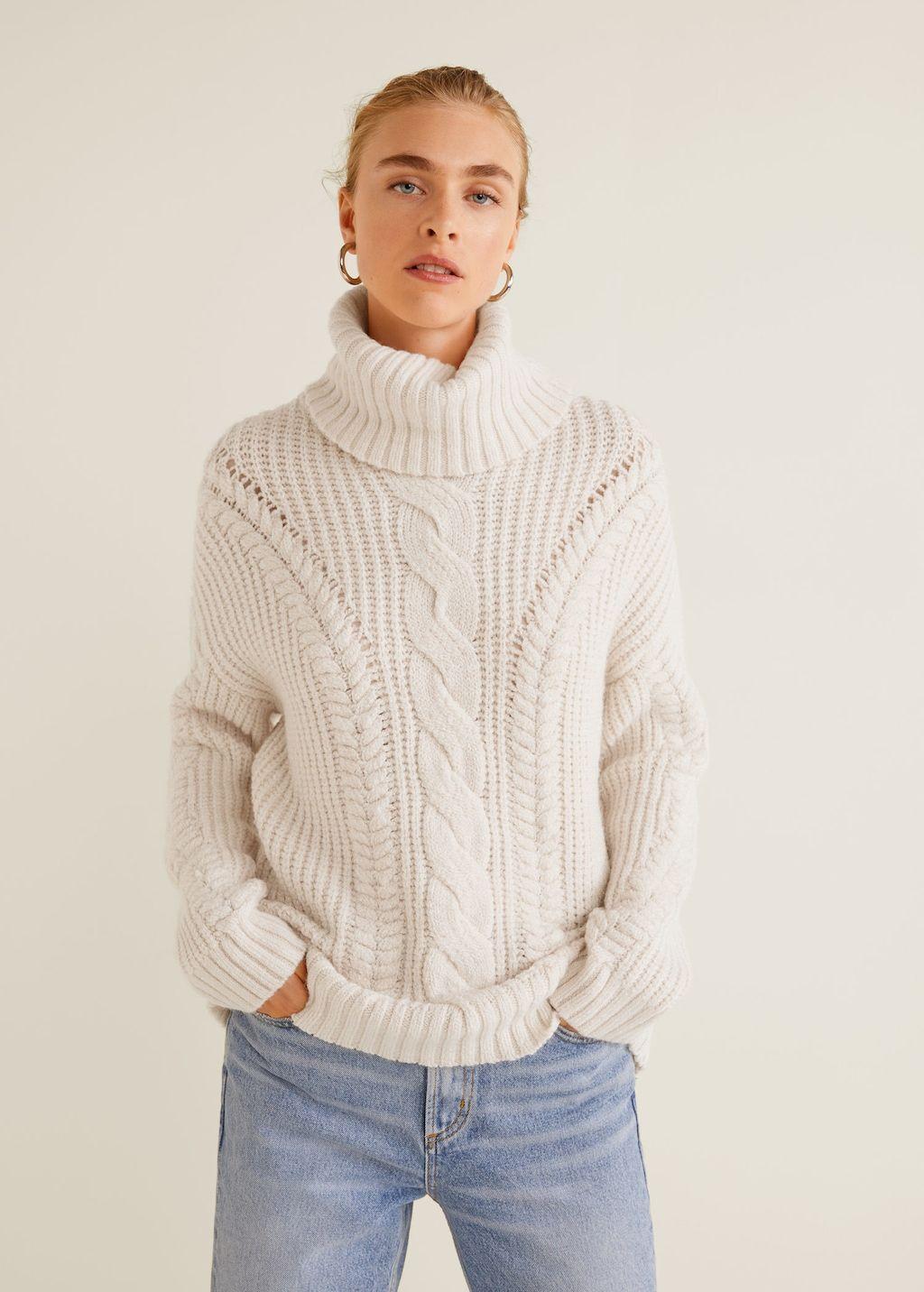 2fd49436701 Джемпер крупной вязки - Кардиганы и свитеры - Женская
