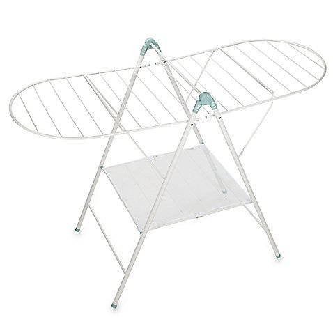 Bed Bath And Beyond Drying Rack Pleasing Real Simple® Adjustable Drying Rackat Bed Bath & Beyondsku