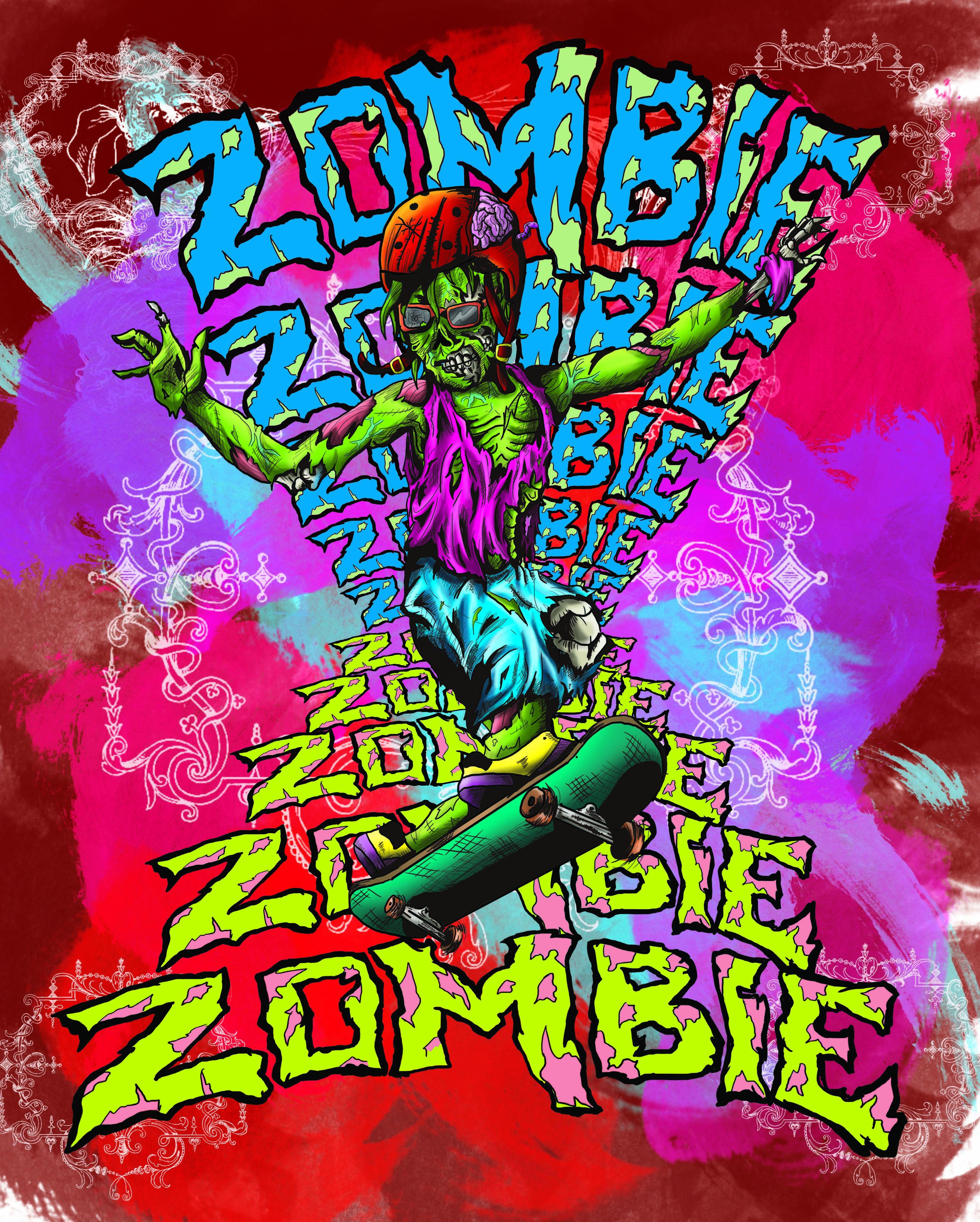 skate zombie