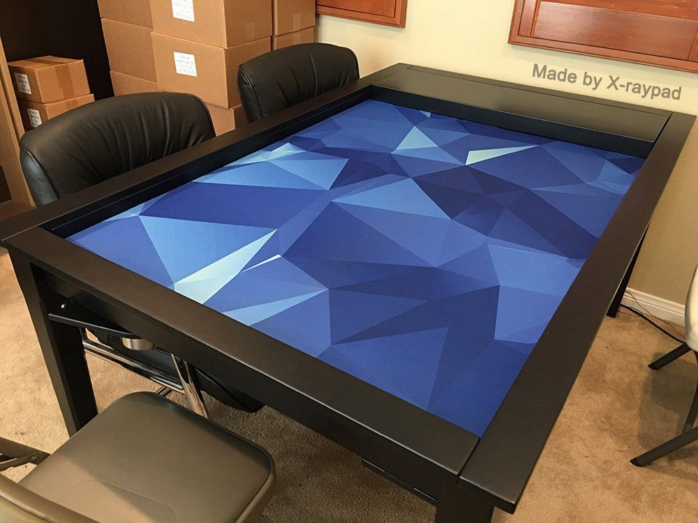 Custom Gaming Playmats With Many Sizes Gaming Table Diy Board Game Table Smart Table