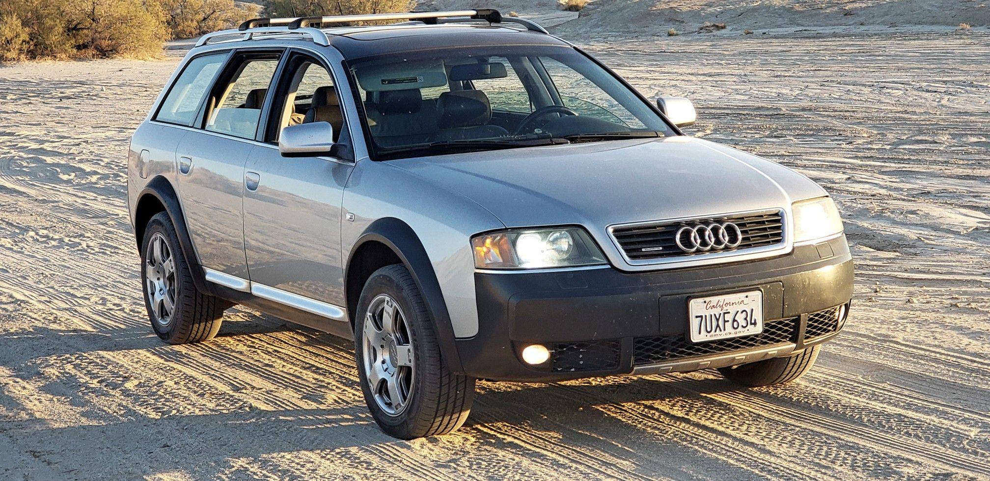 2003 audi allroad 2 7 biturbo quattro 4 position adjustable suspension best car i 39 ve ever owned. Black Bedroom Furniture Sets. Home Design Ideas