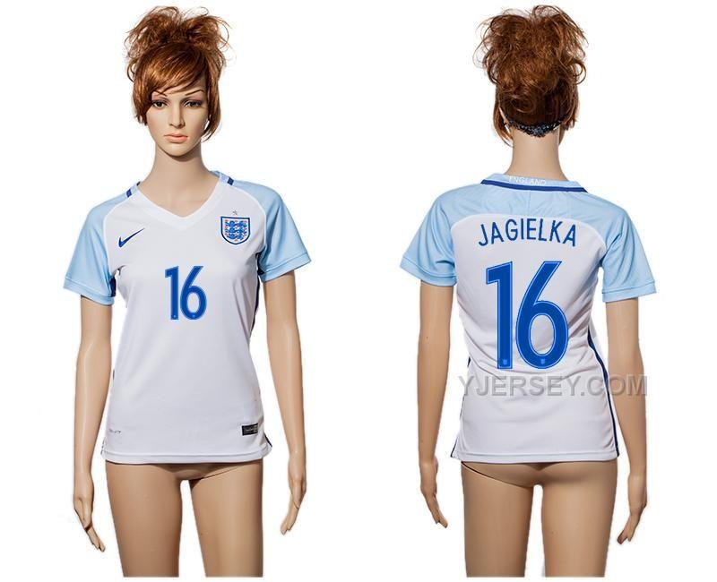 http://www.yjersey.com/england-soccer-jersey-16-jagielka-home-women-euro-2016.html Only$35.00 ENGLAND SOCCER JERSEY 16 JAGIELKA HOME WOMEN EURO 2016 Free Shipping!