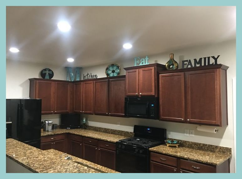 Need Some Ideas For Your Kitchen Decor Tips Decorating Above Cabinets Apartment