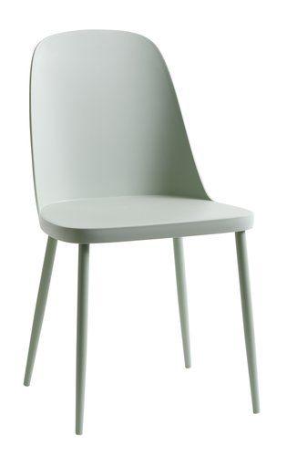 Krzesło Dammen Jasnozielone Jysk Chairs Jadalnia