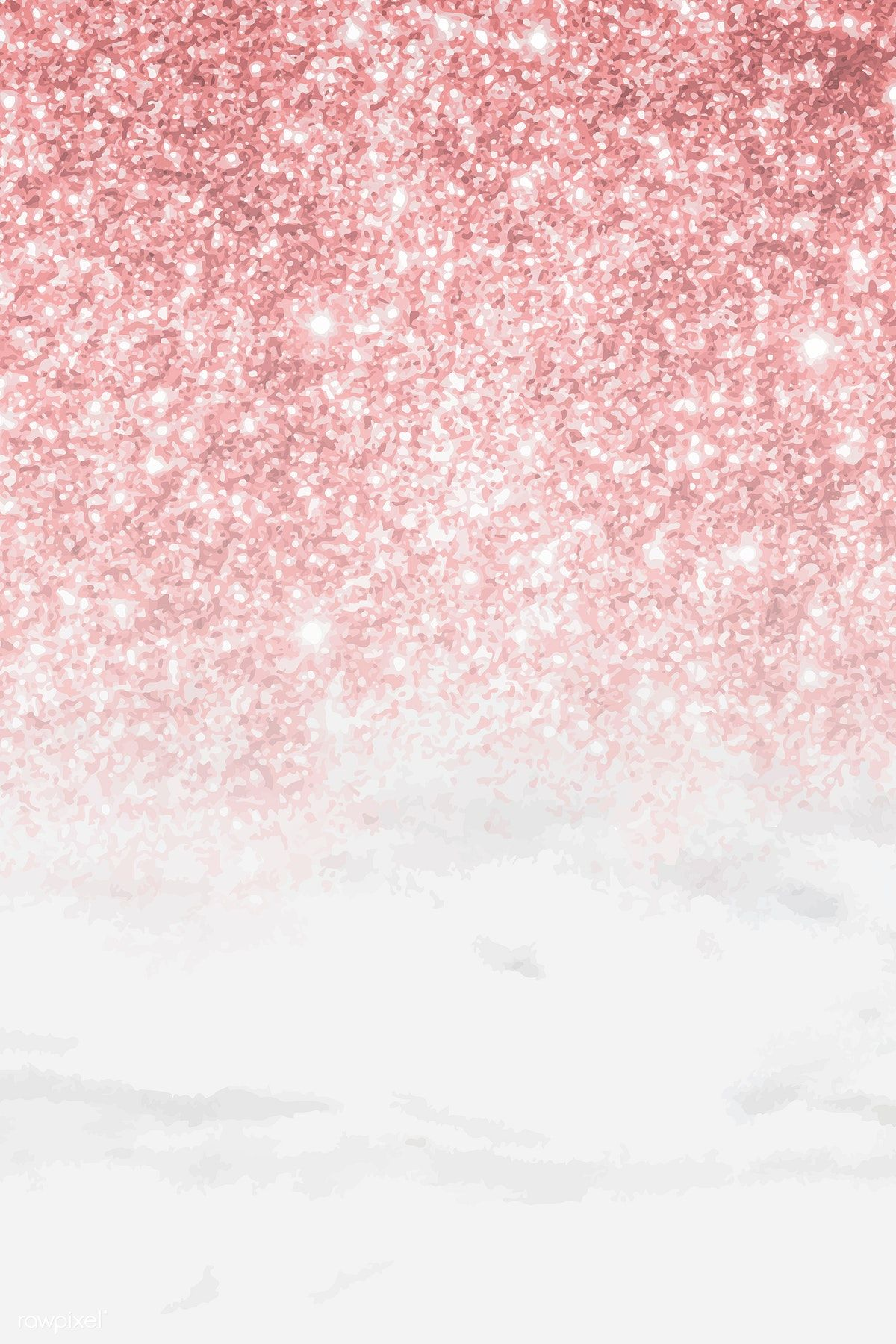 Download premium illustration of Pink glittery pattern on