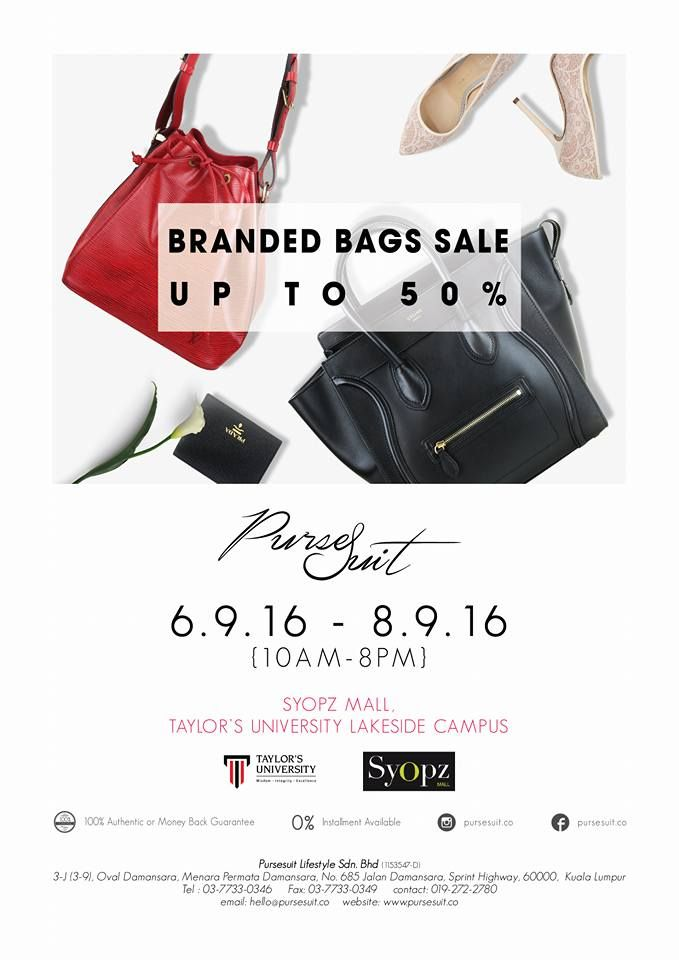 PurseSuit.co Branded Bags Sale in Malaysia Bag sale