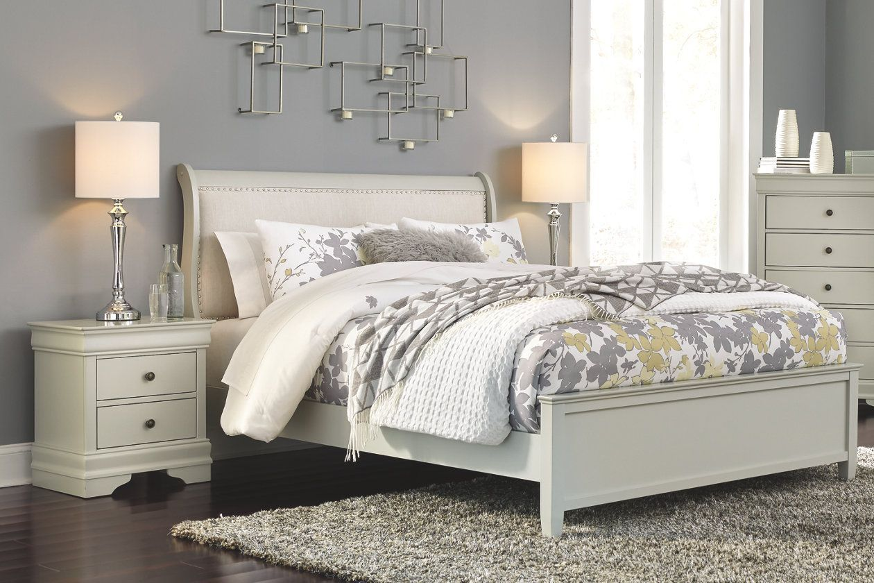Jorstad Full Bed With 2 Nightstands With Images Bedroom Sets