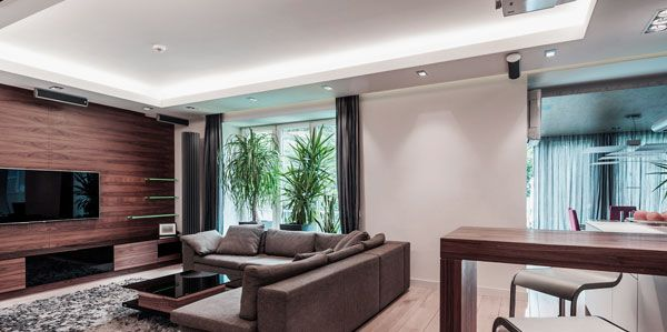 Marvelous Living Room Design Ideas With Modern TV