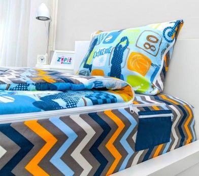 Zipit bedding Childrens beds, Bed, Zipper bedding