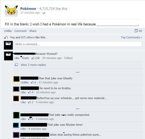 I just want to pikachu