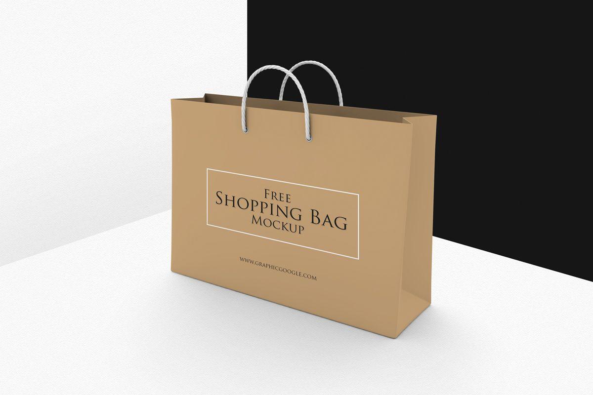 Download Free Shopping Bag Mockup Psd Template Mockup Free Psd Bag Mockup Free Mockup