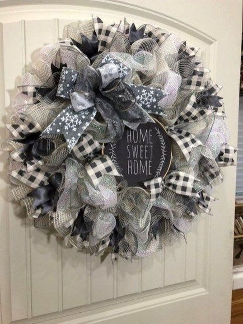 Photo of 46 Awesome Winter Door Wreaths You Can Try This Season
